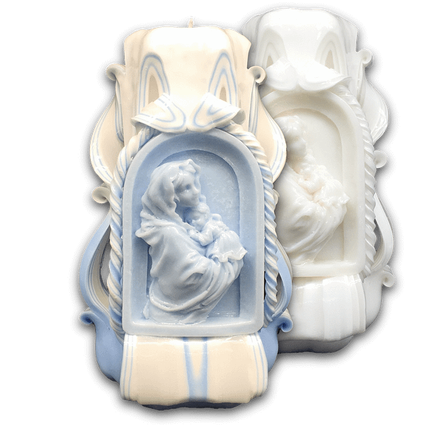 Carved Candles | Mother of Life | ~18cm Carved Candles [tag]