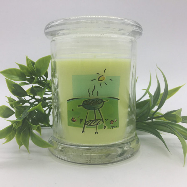 The Great Outdoors   Citronella & Peppermint Scented Candle Scented Candles [tag]
